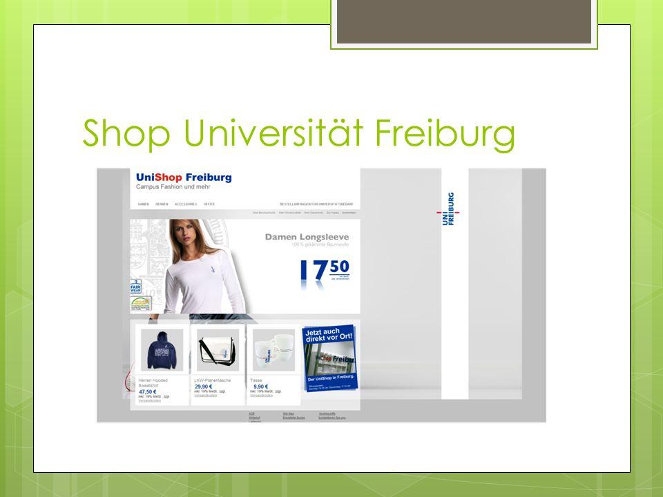 Shop Universität Freiburg