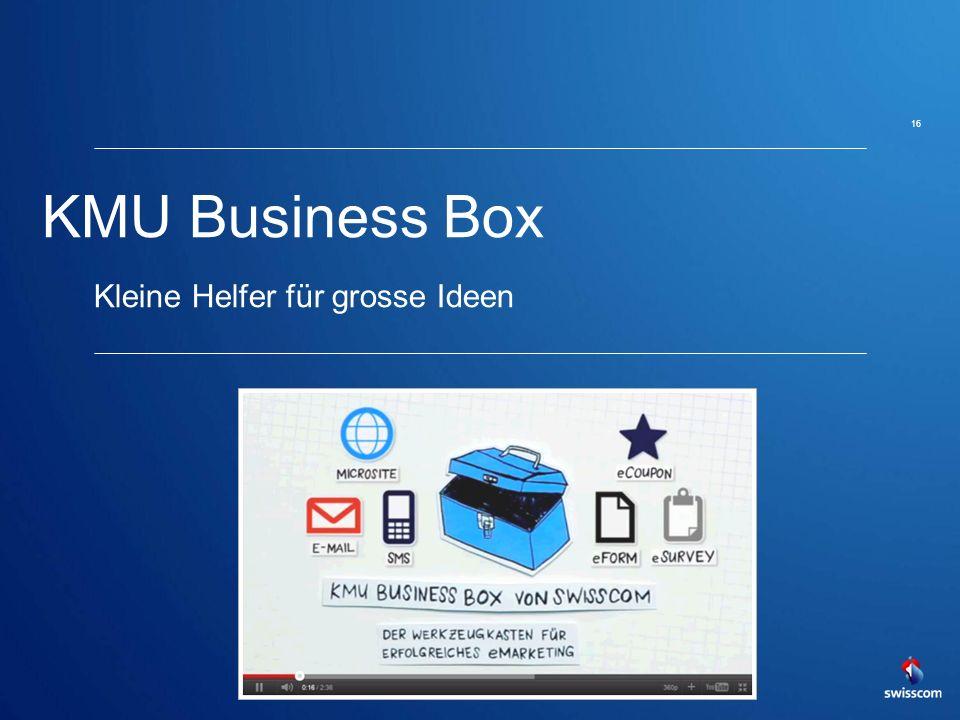 KMU Business Box Kleine Helfer für grosse Ideen 16