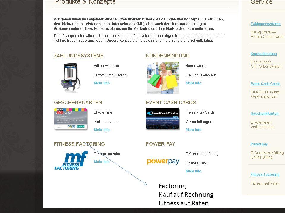 Factoring, Debitorenmanagement Debitorenmanagement Ihre Vorteile im Überblick: Siehe nächste Slide