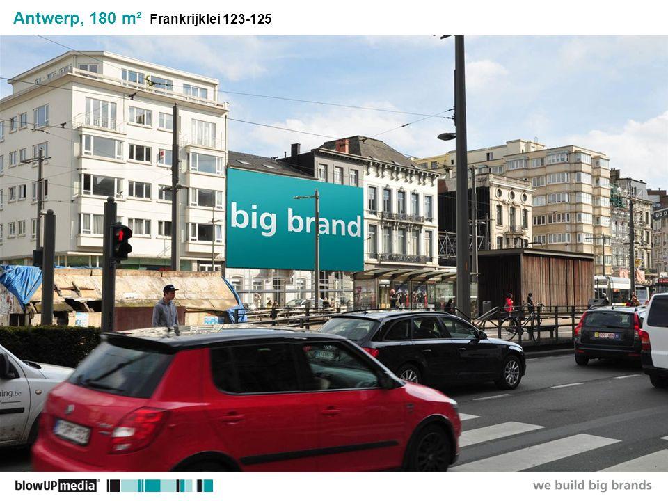 ________________ _____ ______ __________ _____ ____ Textmasterformate durch Klicken bearbeiten Zweite Ebene Dritte Ebene Vierte Ebene Fünfte Ebene Antwerp, 180 m² Frankrijklei 123-125