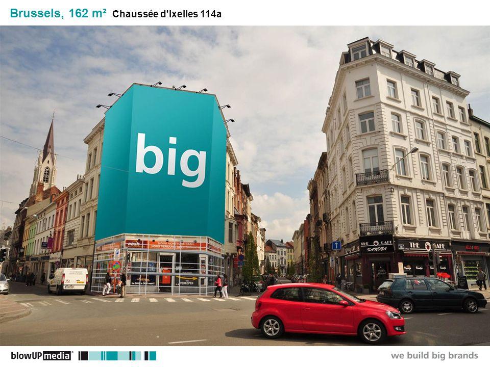 ________________ _____ ______ __________ _____ ____ Textmasterformate durch Klicken bearbeiten Zweite Ebene Dritte Ebene Vierte Ebene Fünfte Ebene Brussels, 162 m² Chaussée d Ixelles 114a