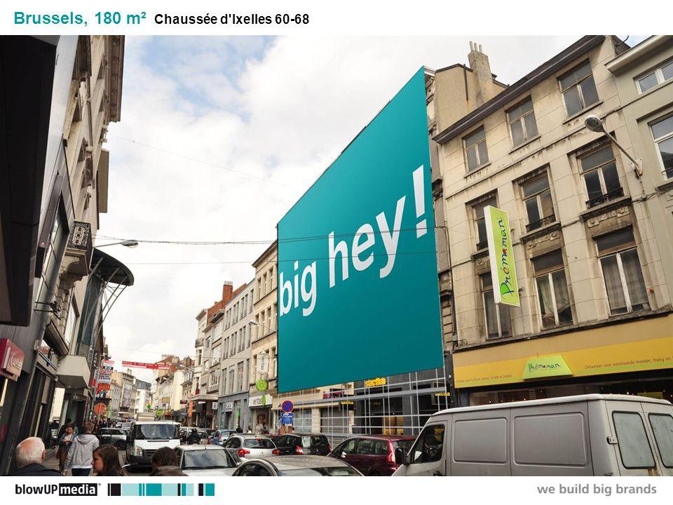 ________________ _____ ______ __________ _____ ____ Textmasterformate durch Klicken bearbeiten Zweite Ebene Dritte Ebene Vierte Ebene Fünfte Ebene Brussels, 180 m² Chaussée d Ixelles 60-68