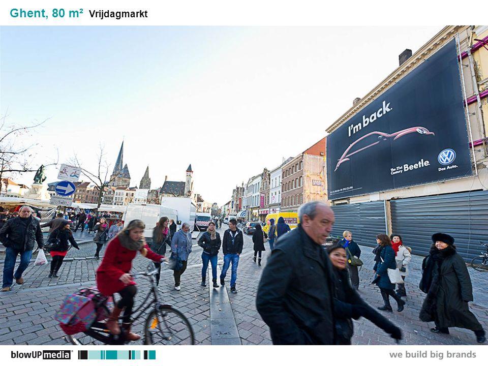 ________________ _____ ______ __________ _____ ____ Textmasterformate durch Klicken bearbeiten Zweite Ebene Dritte Ebene Vierte Ebene Fünfte Ebene Ghent, 80 m² Vrijdagmarkt