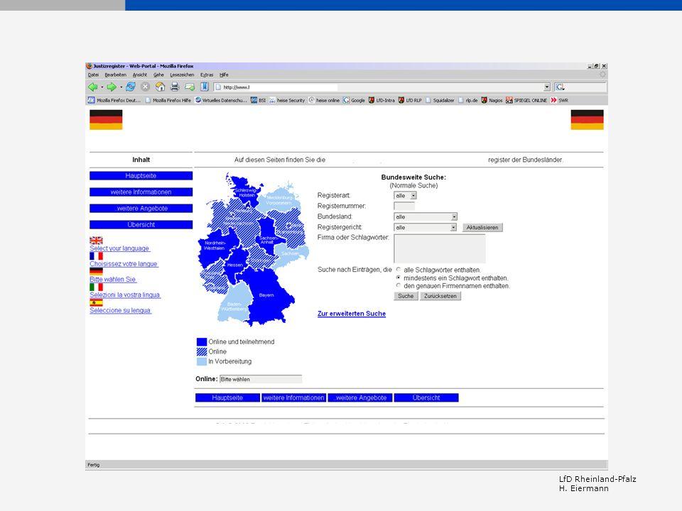 LfD Rheinland-Pfalz H. Eiermann