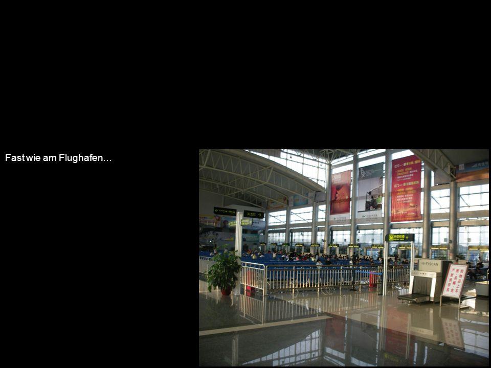 Fast wie am Flughafen…