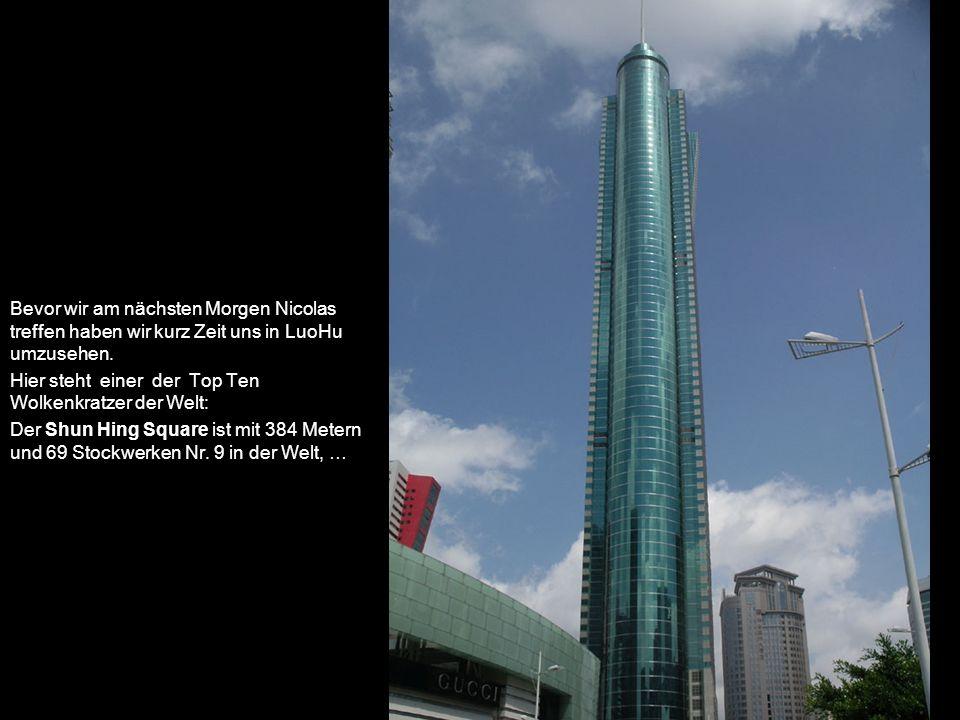 …umgeben von amerikanisch wirkender Architektur…