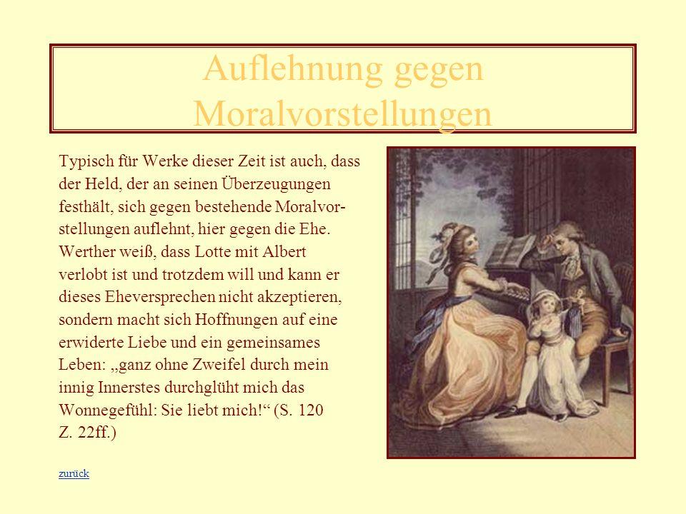 Kritisierung des Adels In Goethes Werk wird der arrogante Adel kritisiert. Im Brief vom 15. März beschreibt Werther wie er von der noblen Gesellschaft