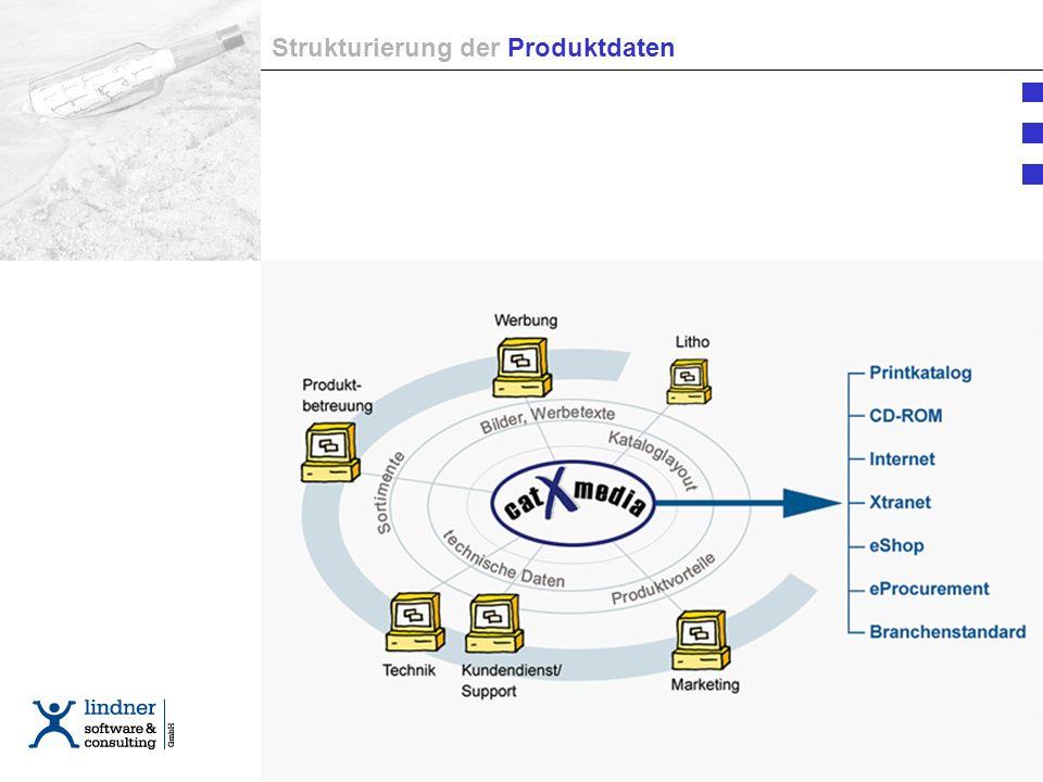 Strukturierung Strukturierung der Produktdaten
