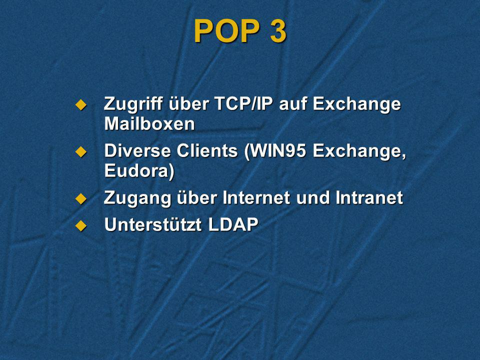 NNTP Einlesen von News-Groups in Exchange Public Folders. Einlesen von News-Groups in Exchange Public Folders. Publizieren von Exchange Folders im Int