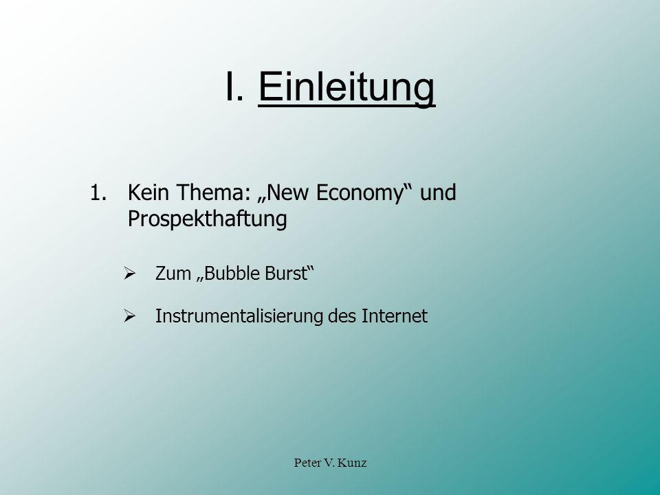 Peter V.Kunz I.