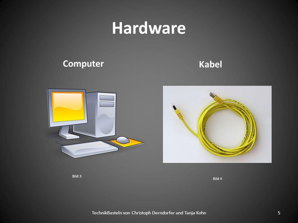 Hardware Computer Kabel 5TechnikBasteln von Christoph Derndorfer und Tanja Kohn Bild 3 Bild 4