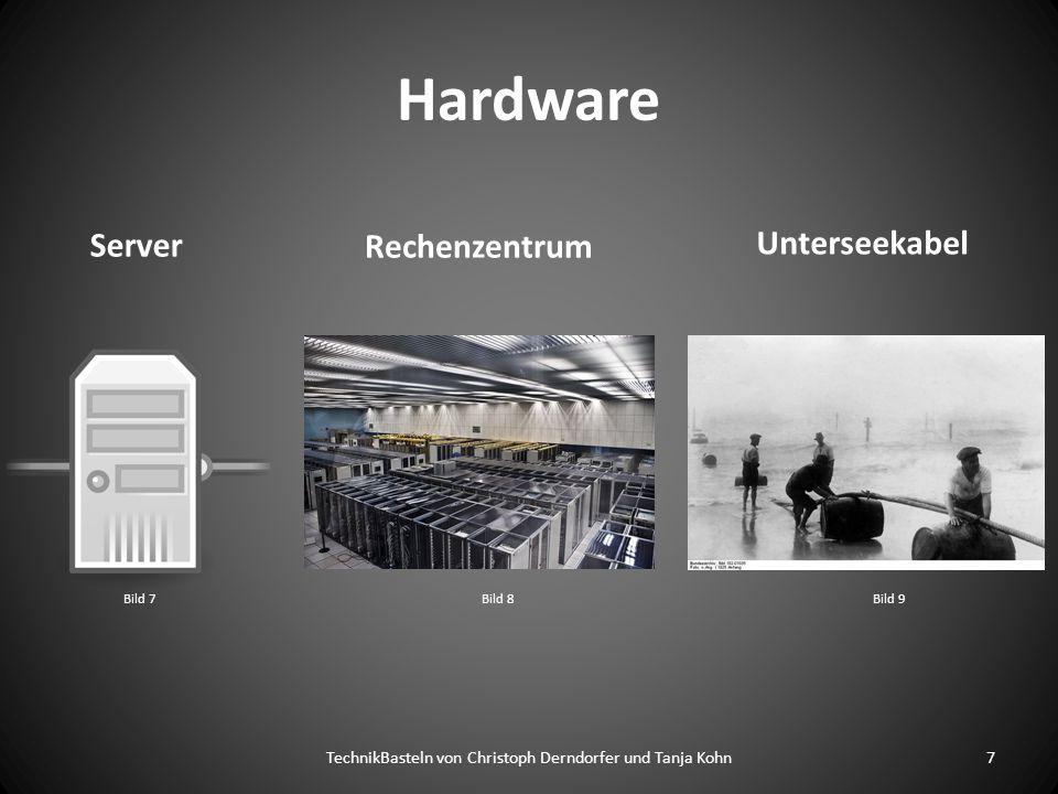 Hardware Server Unterseekabel 7TechnikBasteln von Christoph Derndorfer und Tanja Kohn Rechenzentrum Bild 7Bild 8Bild 9
