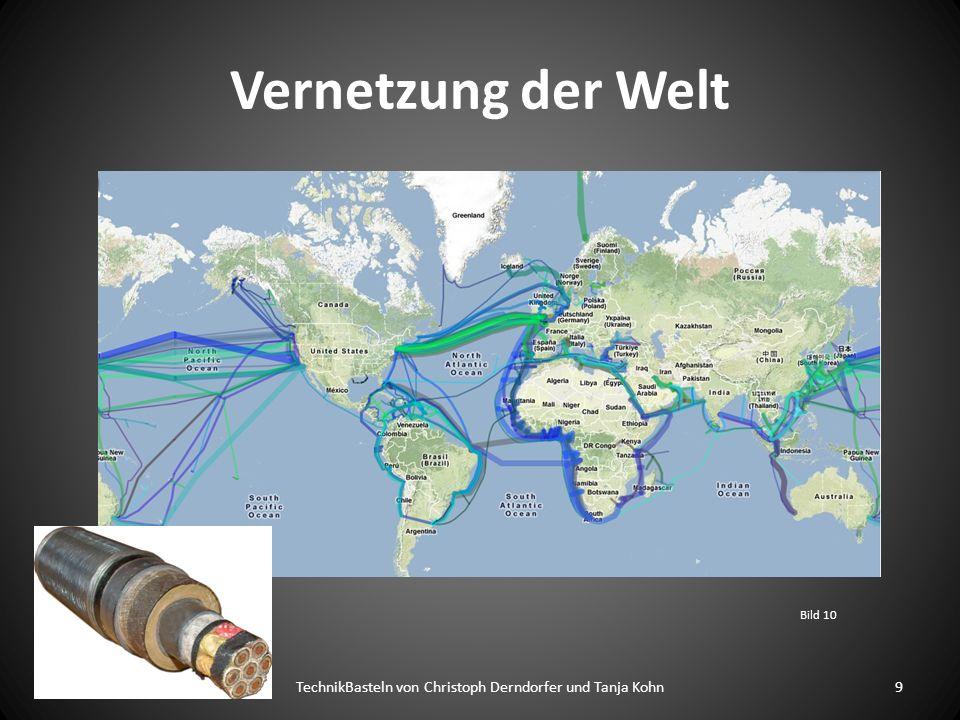 Vernetzung der Welt Bild 10 9TechnikBasteln von Christoph Derndorfer und Tanja Kohn