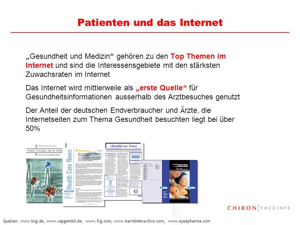 10 Patienten und das Internet Gesundheit und Medizin geh ö ren zu den Top Themen im Internet und sind die Interessensgebiete mit den st ä rksten Zuwac