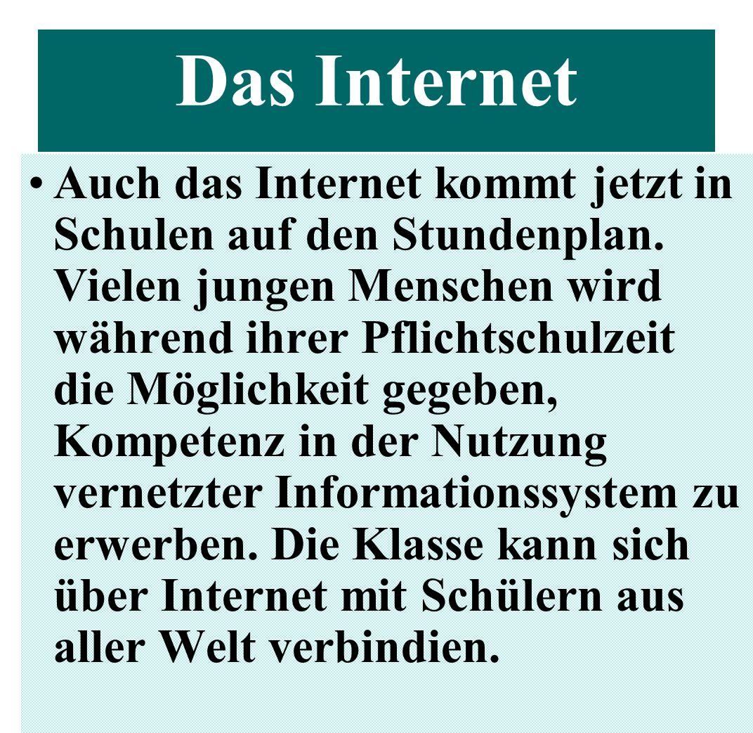 Mit PCs in 61 Prozent aller Haushalte ist das Internet weiter auf dem Vormarsch.