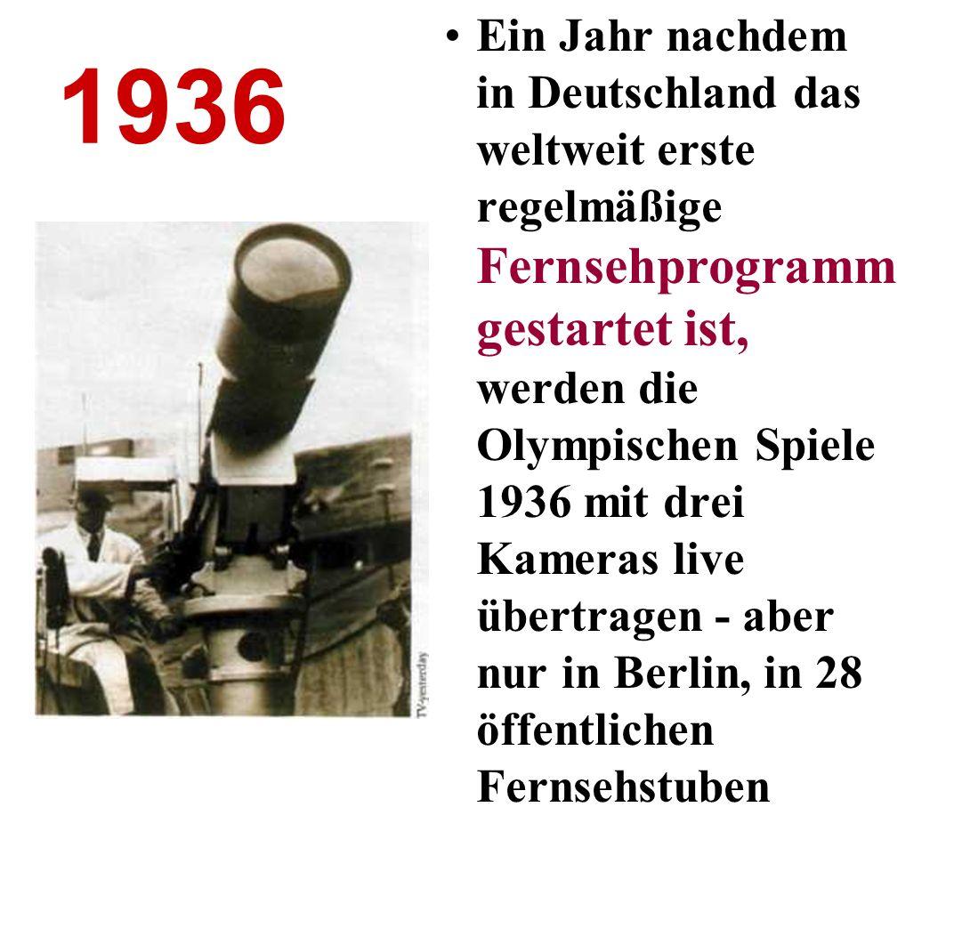 1941 Die Geburtsstunde des Computers: In Berlin präsentiert der Bauingenieur Konrad Zuse seinen Z3 , den ersten voll funktionstüchtigen, programmgesteuerten elektromechanischen Rechner der Welt.