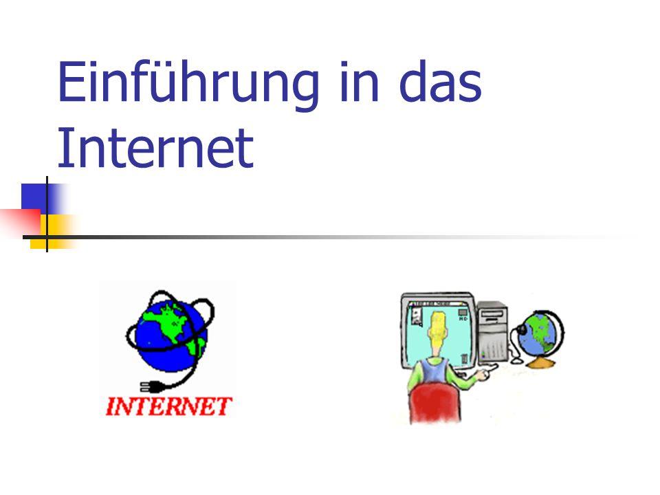 Einführung in das Internet