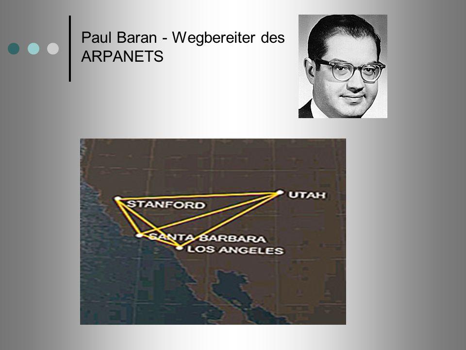 Paul Baran - Wegbereiter des ARPANETS