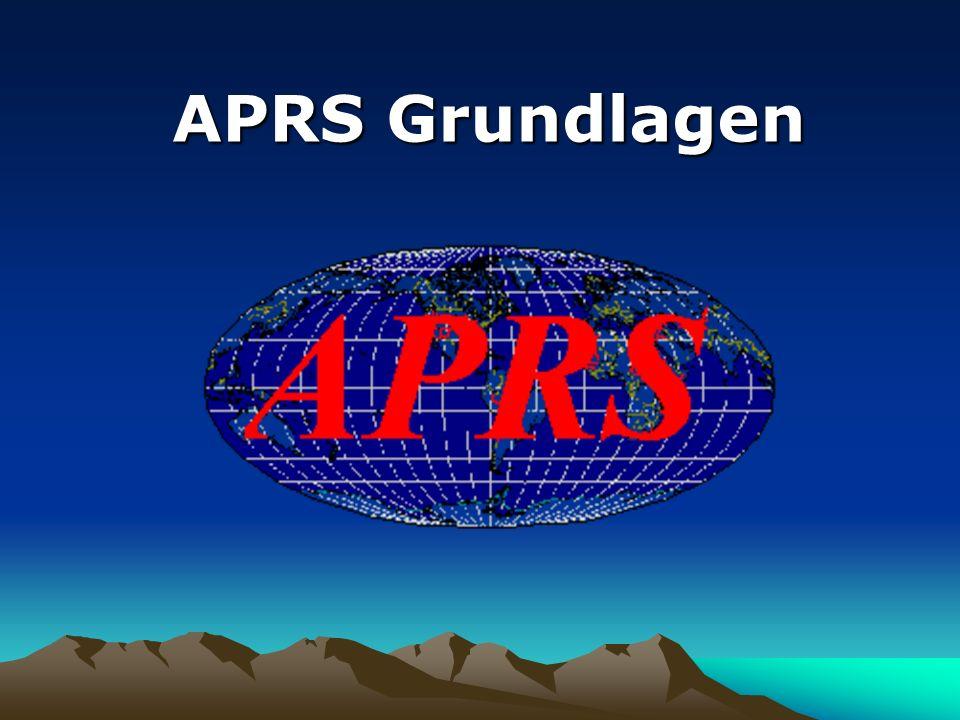 Informationen im Web Allgemeine Informationen www.tapr.org www.tapr.org – Spezifikation des APRS-Protokolles www.aprs.org www.aprs.org – Homepage des Erfinders WB4APR www.aprs.de www.aprs.de – Deutsche APRS-Homepage www.hb9thj.ch www.hb9thj.ch – APRS Links und Tracks u.v.m.