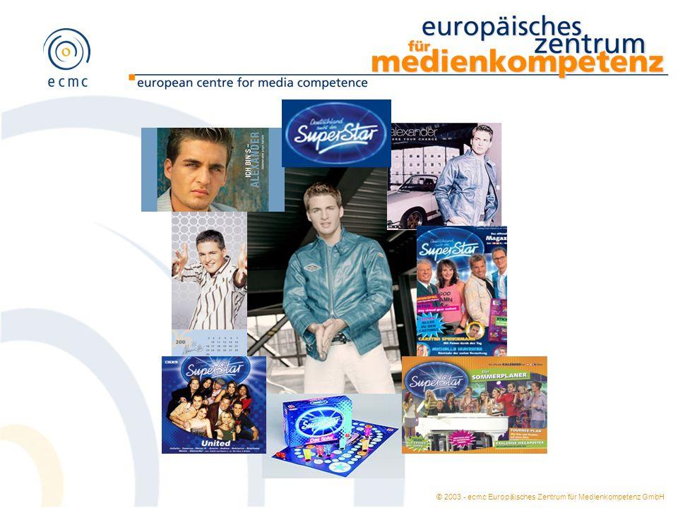 © 2003 - ecmc Europäisches Zentrum für Medienkompetenz GmbH 1.