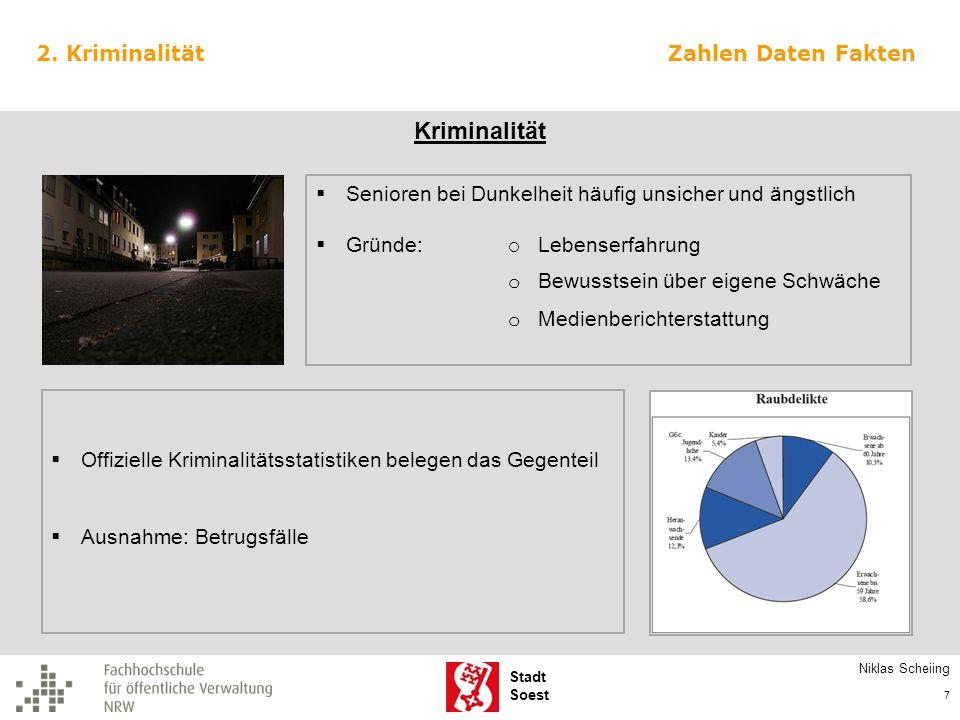 Stadt Soest Christiane Eschenberg, Kathrin Kötter, Stefanie Lienkamp 28 Förderung des Ehrenamtes Kennen Sie das Seniorenbüro der Stadt Soest.