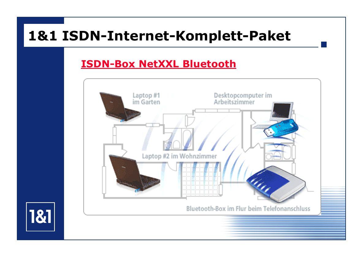 ISDN-Box NetXXL Bluetooth 1&1 ISDN-Internet-Komplett-Paket