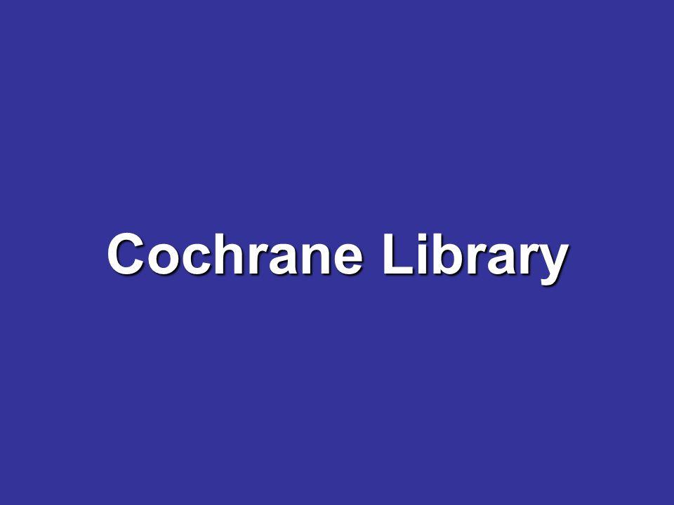 Klemperer Die Cochrane Collaboration ist ein internationales Netzwerk von Wissenschaftlern.