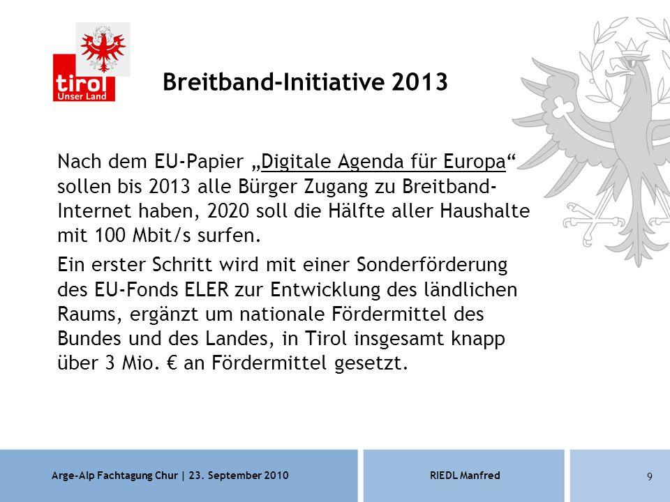Arge-Alp Fachtagung Chur | 23.
