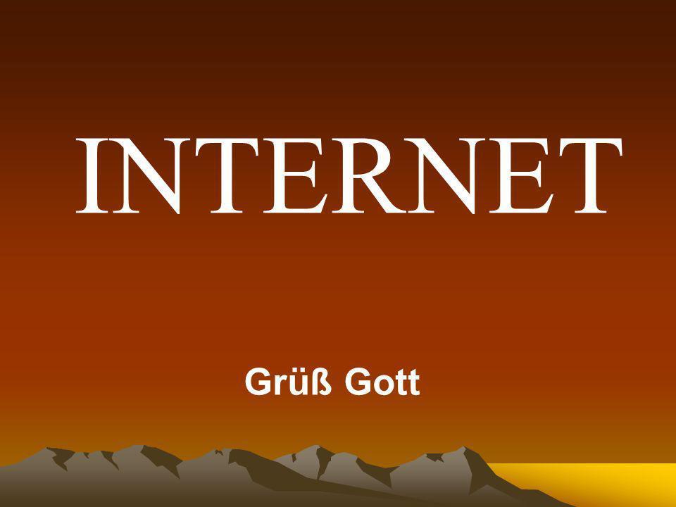 Inhalte Inhalte Geschichte Einstieg und Überblick zum Thema Internet Grundlagen für den Einstieg ins Internet Hardware, Software, Provider, Account, Kosten