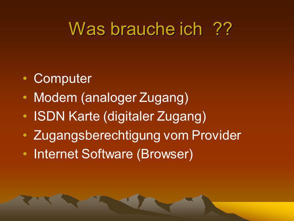 Browser: Software (z.B.