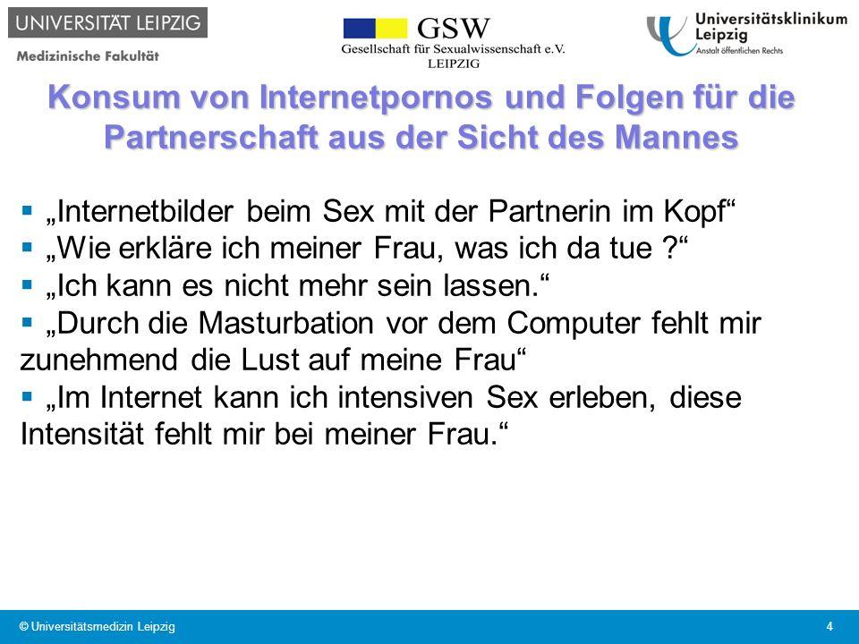 Konsum von Internetpornos und Folgen für die Partnerschaft aus der Sicht des Mannes Internetbilder beim Sex mit der Partnerin im Kopf Wie erkläre ich