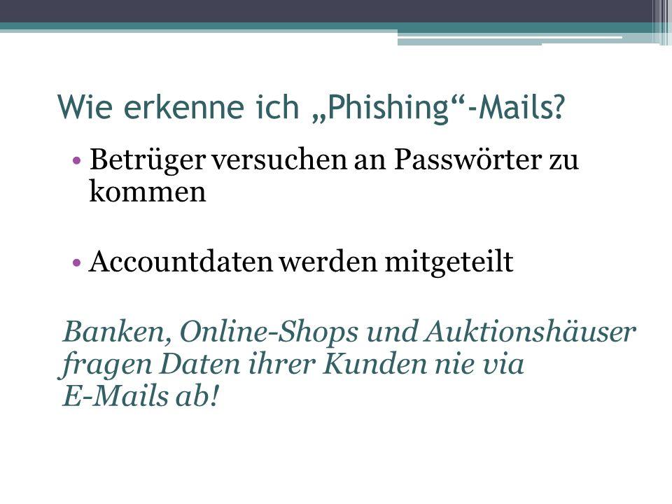 Viren und Trojaner sind in aller Münde E-Mail-Adressen werden gesammelt Spam wird verschickt Wie kann ich mich davor schützen.