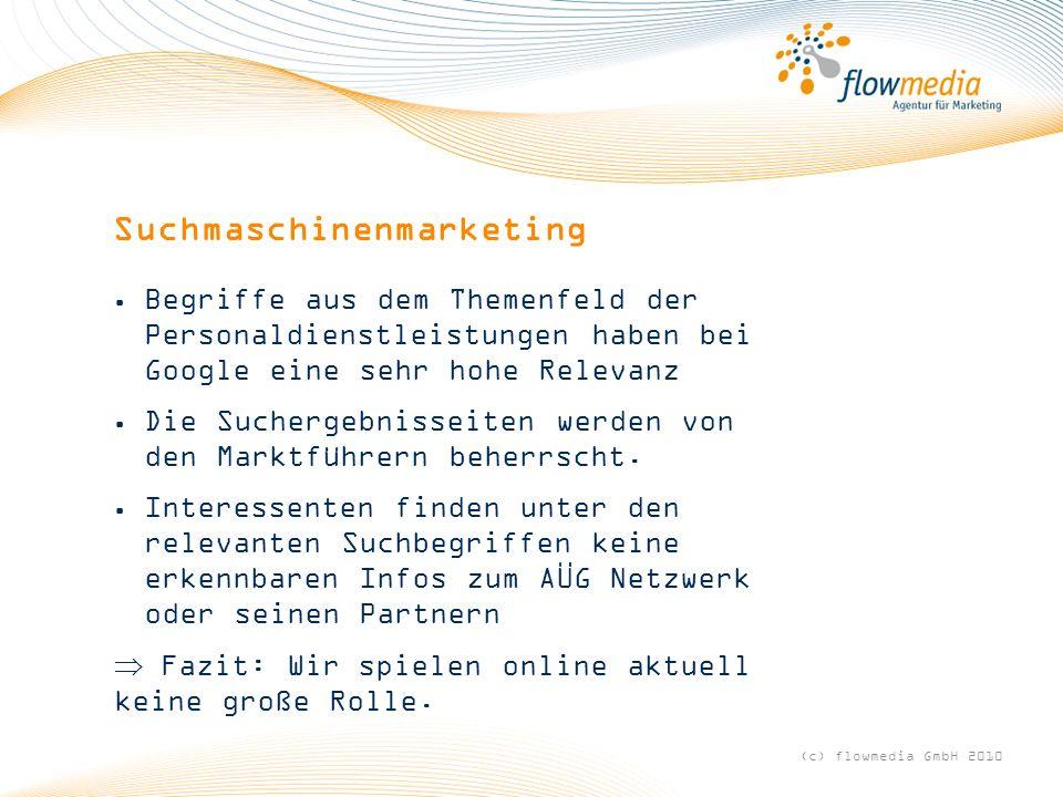 Suchmaschinenmarketing Begriffe aus dem Themenfeld der Personaldienstleistungen haben bei Google eine sehr hohe Relevanz Die Suchergebnisseiten werden von den Marktführern beherrscht.