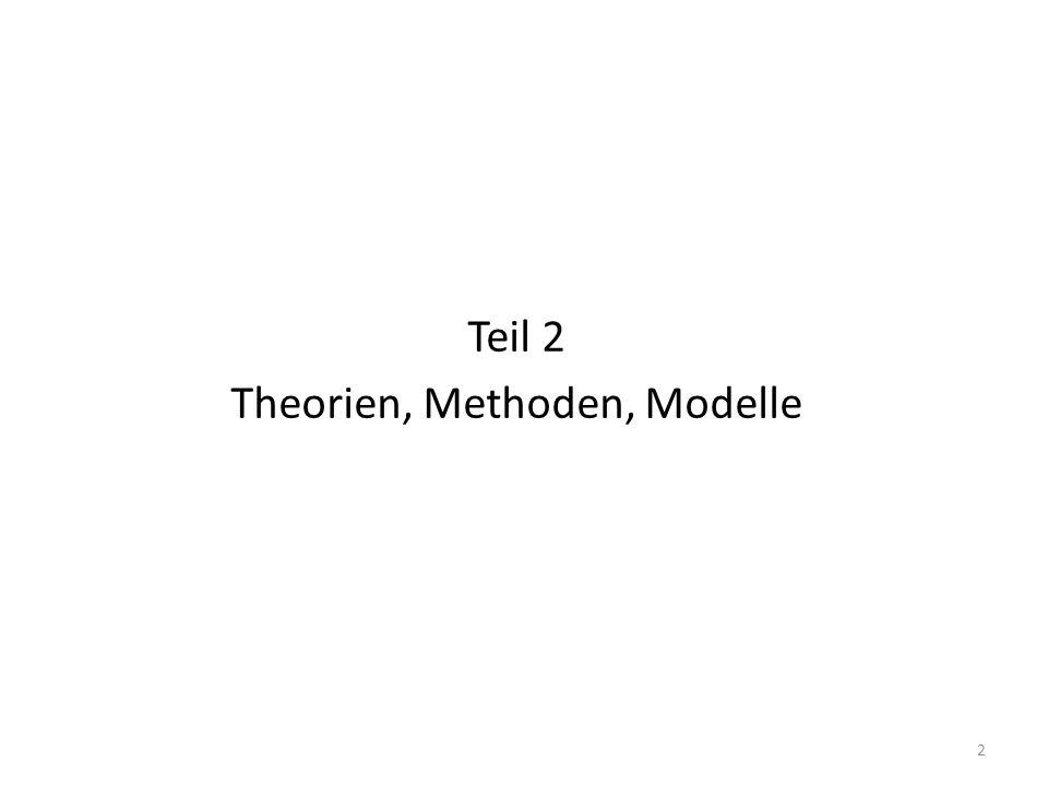 Teil 2 Theorien, Methoden, Modelle 2