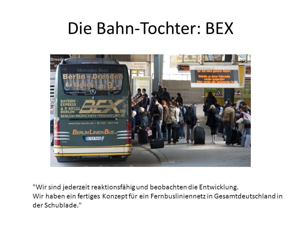Die Bahn-Tochter: BEX