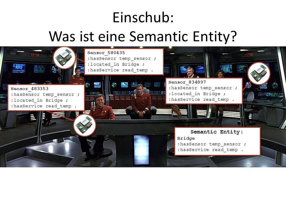 Einschub: Was ist eine Semantic Entity.