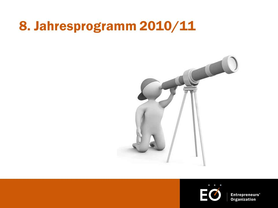 8. Jahresprogramm 2010/11