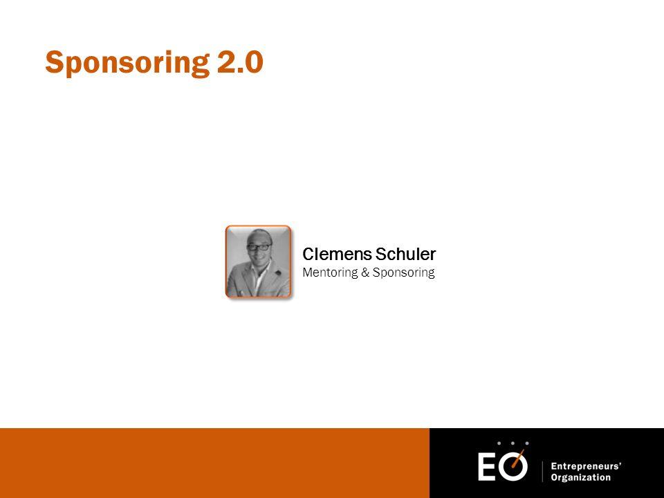 Sponsoring 2.0 Clemens Schuler Mentoring & Sponsoring