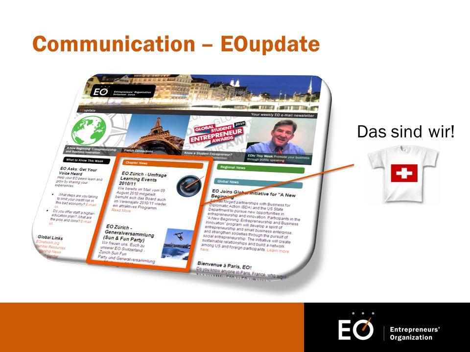 Communication – EOupdate Das sind wir!