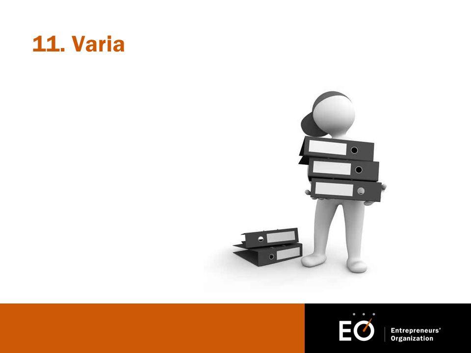11. Varia