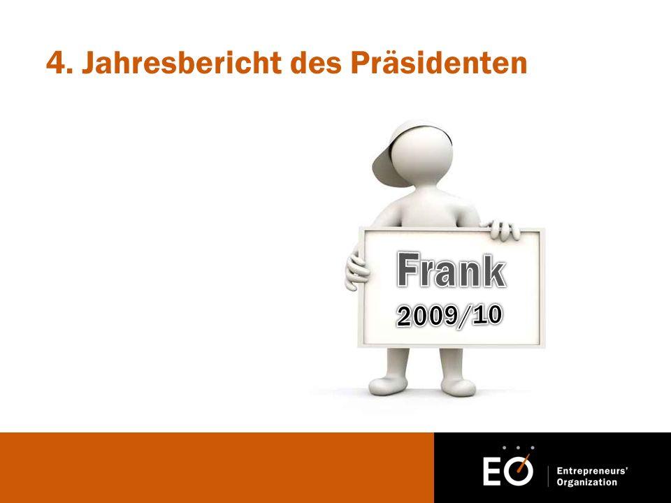 4. Jahresbericht des Präsidenten