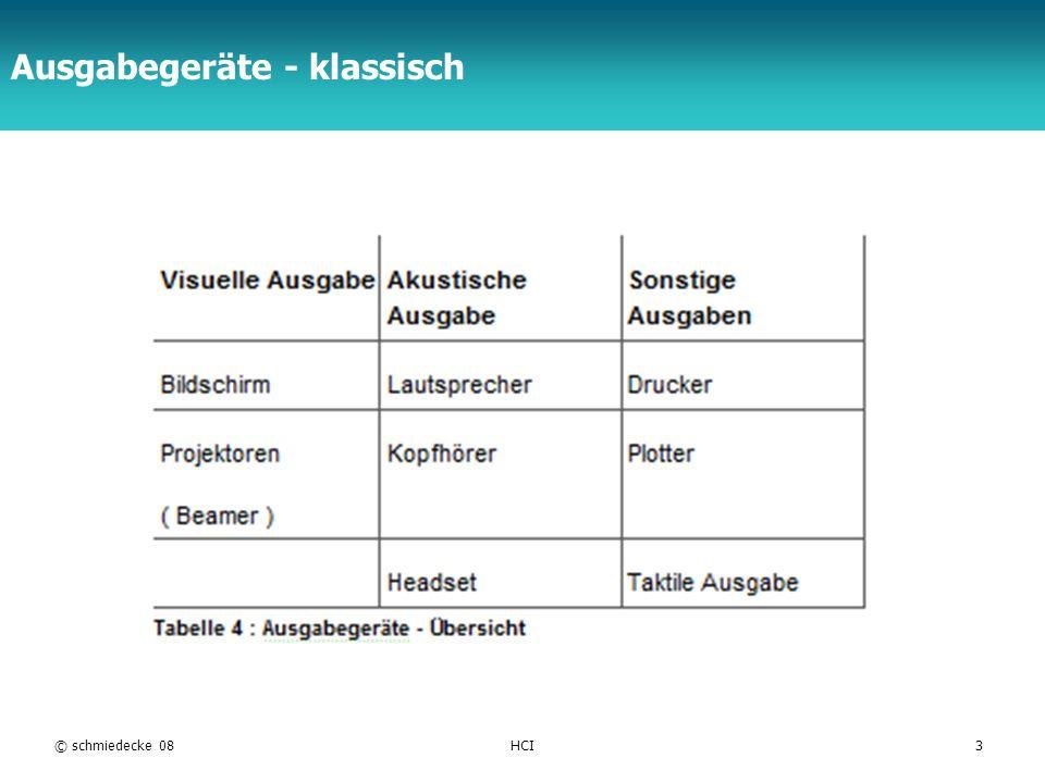 TFH Berlin Ausgabegeräte - klassisch © schmiedecke 08HCI3