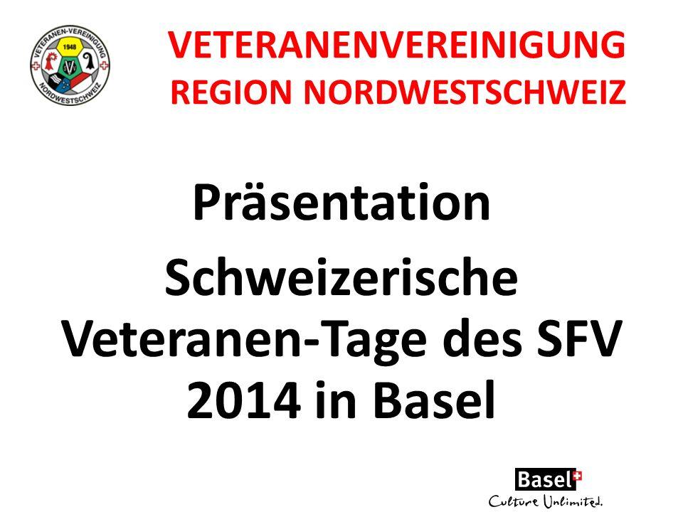 Präsentation Schweizerische Veteranen-Tage des SFV 2014 in Basel