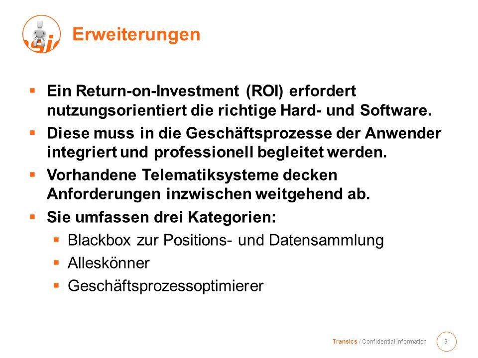 Ein Return-on-Investment (ROI) erfordert nutzungsorientiert die richtige Hard- und Software. Diese muss in die Geschäftsprozesse der Anwender integrie