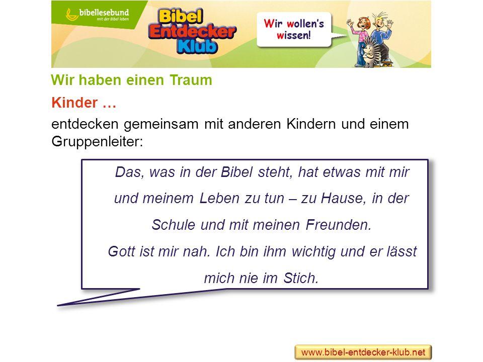 Kinder … entwickeln ein eigenes Interesse, regelmäßig in der Bibel zu lesen.
