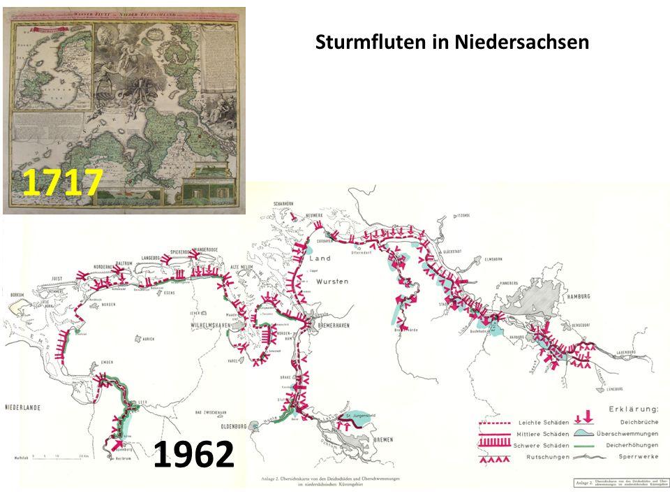 1962 1717 Sturmfluten in Niedersachsen