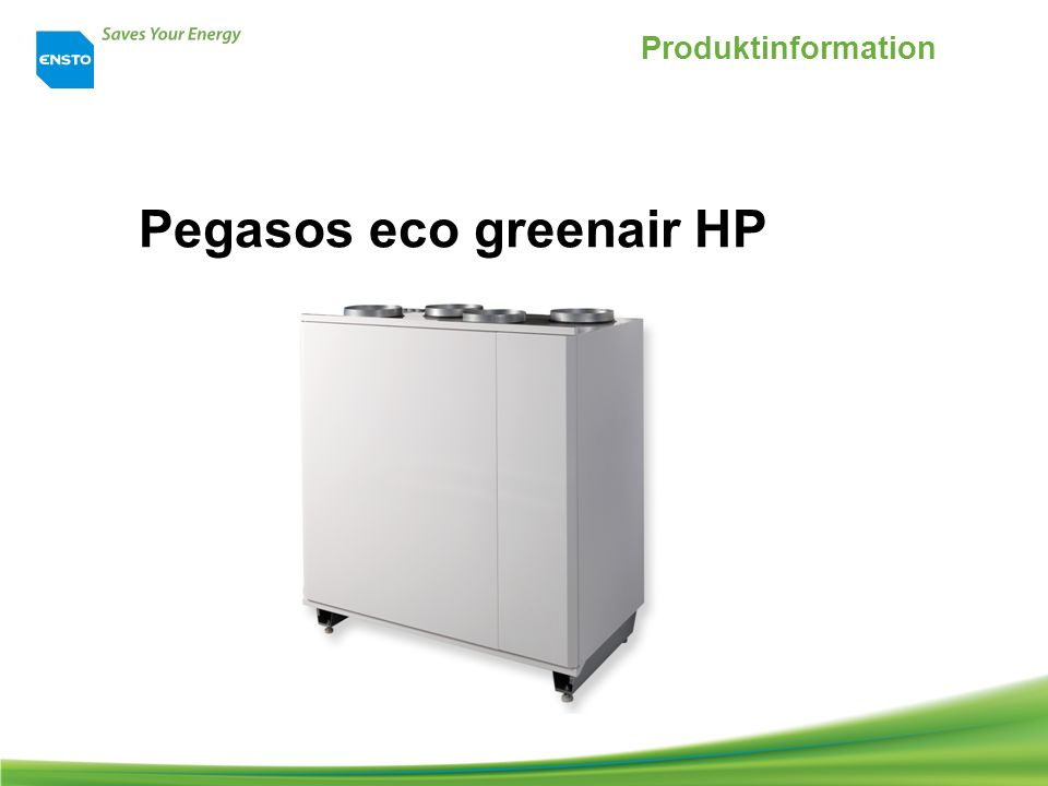 Pegasos eco greenair HP Produktinformation