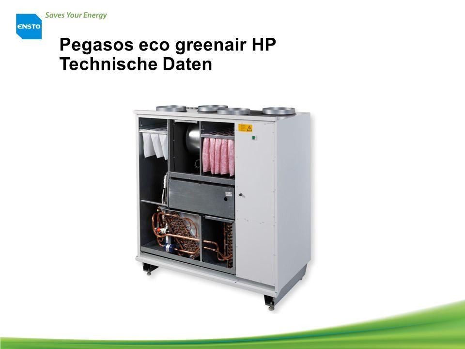 Pegasos eco greenair HP Technische Daten