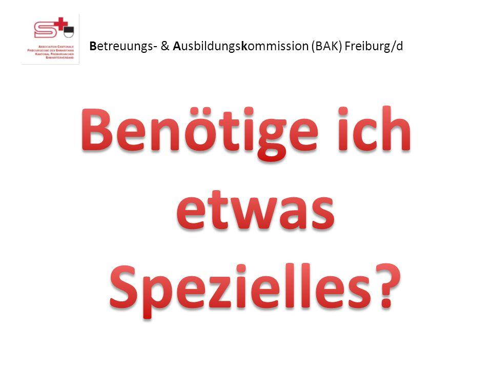 Betreuungs- & Ausbildungskommission (BAK) Freiburg/d