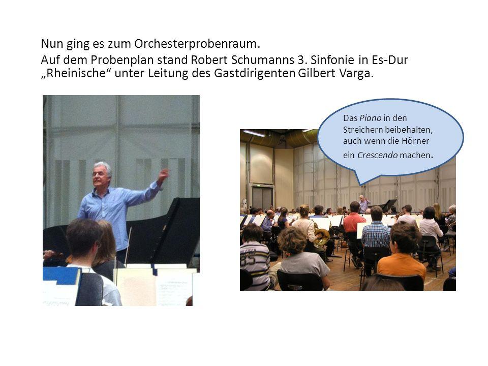 Orchesterprobe 10.00 – 11.25 Uhr Museumsorchester Frankfurt